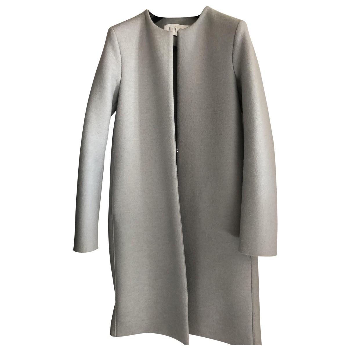 Harris Wharf London \N Grey Wool coat for Women 38 IT