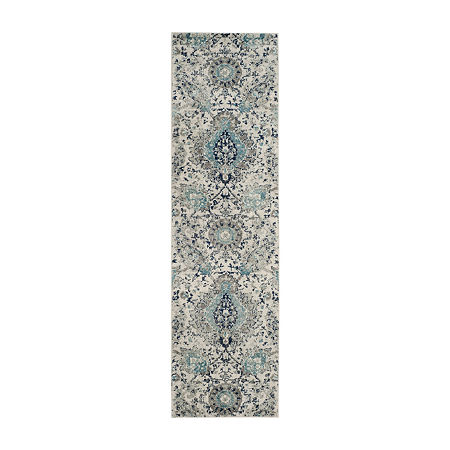 Safavieh Madison Collection Baldric Floral Runner Rug, One Size , Multiple Colors