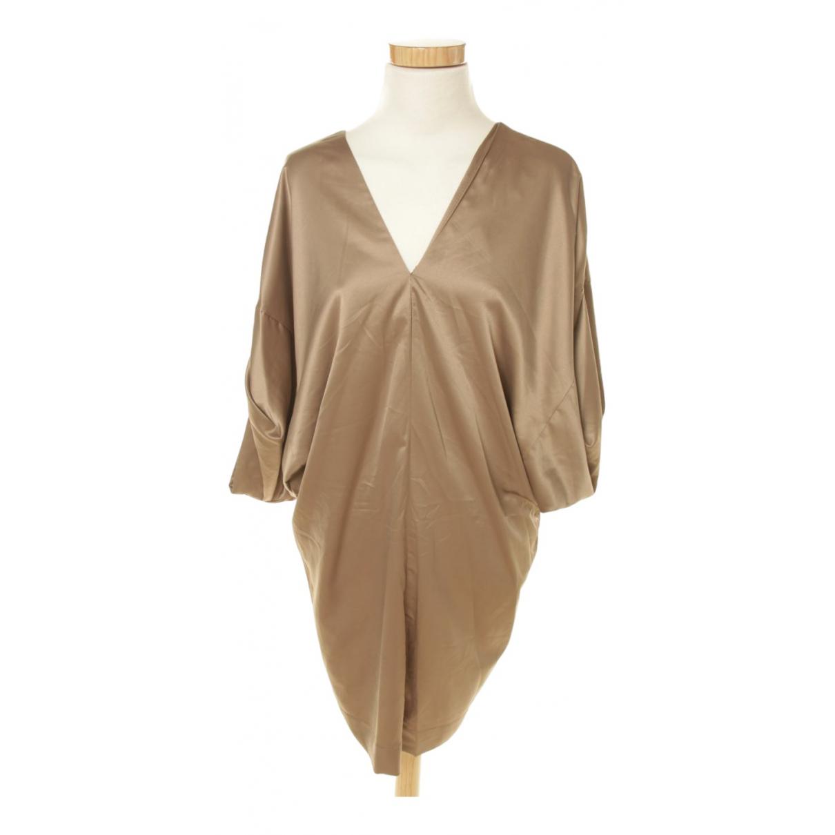 Maje - Robe   pour femme - marron