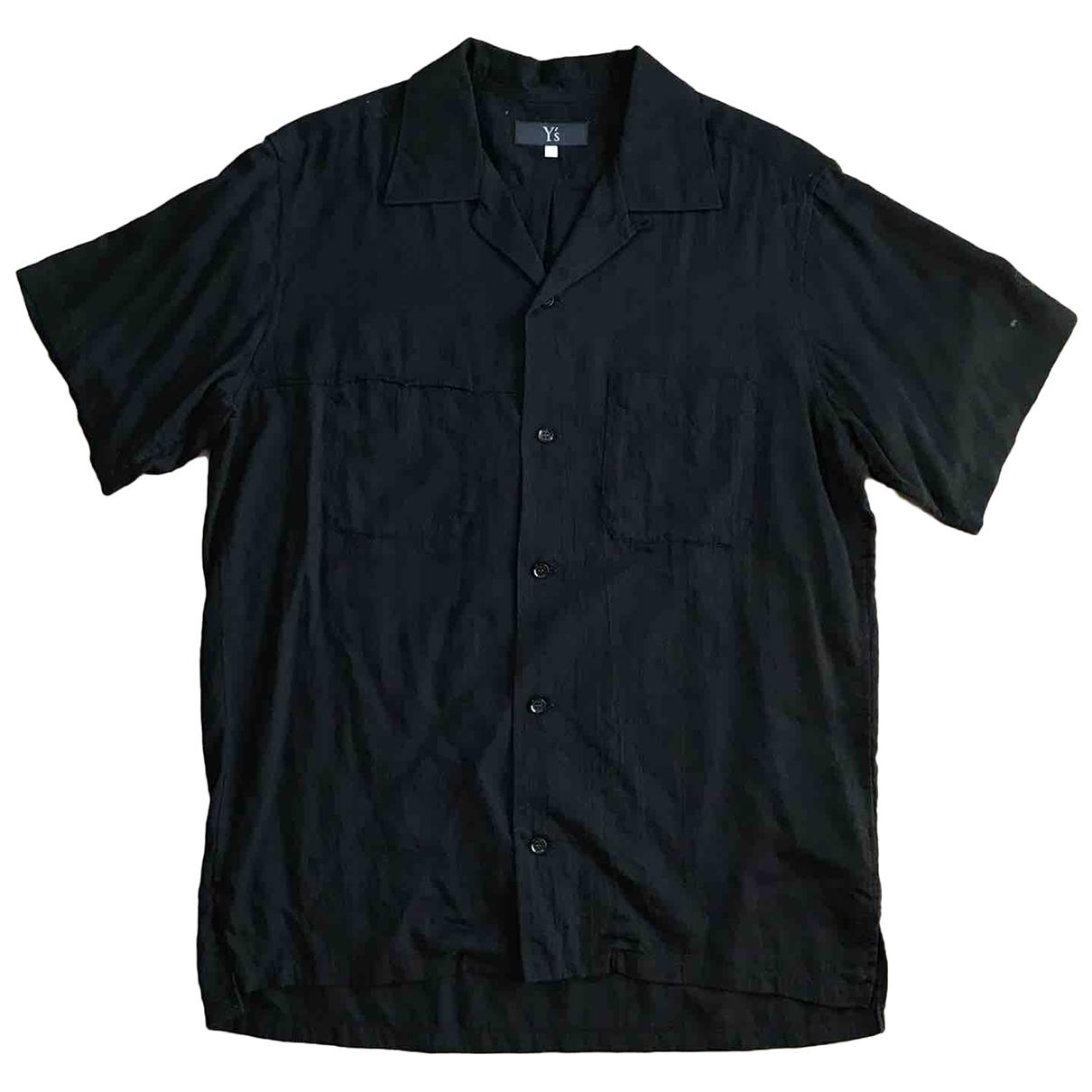 Yohji Yamamoto \N Black Cotton Shirts for Men S International