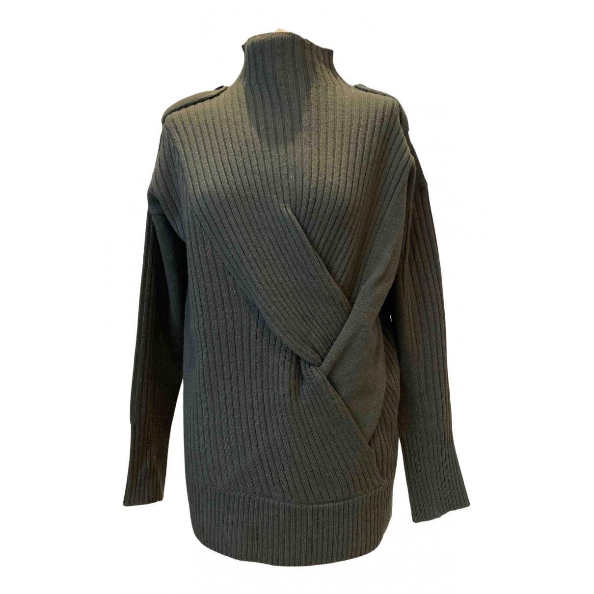Rag & Bone \N Pullover in  Khaki Wolle