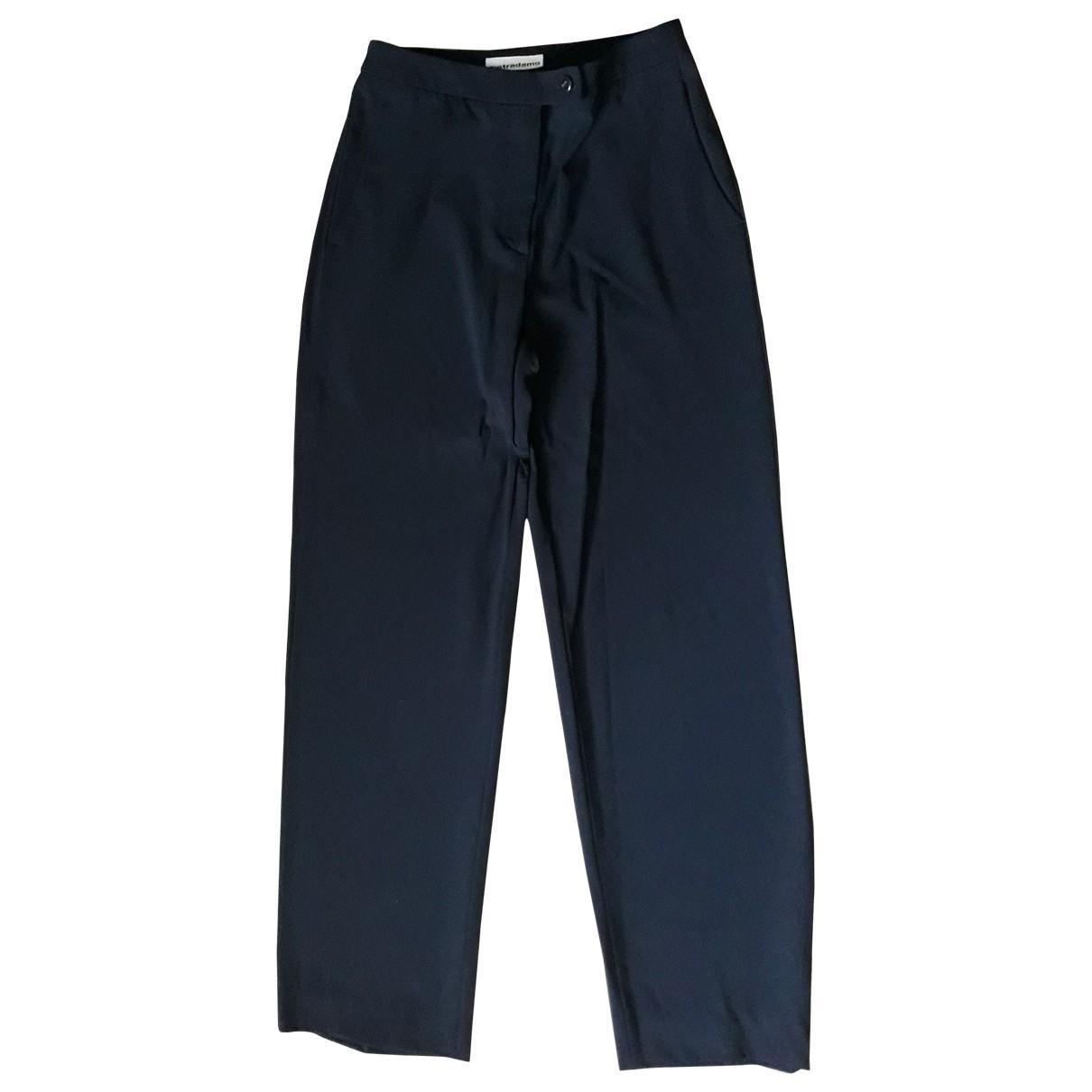 Pantalon de traje de Lana Non Signe / Unsigned