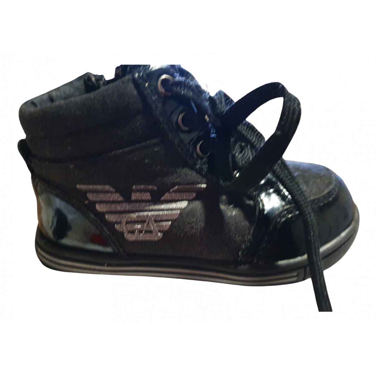 Burberry N Black Patent leather Trainers for Kids 21 FR