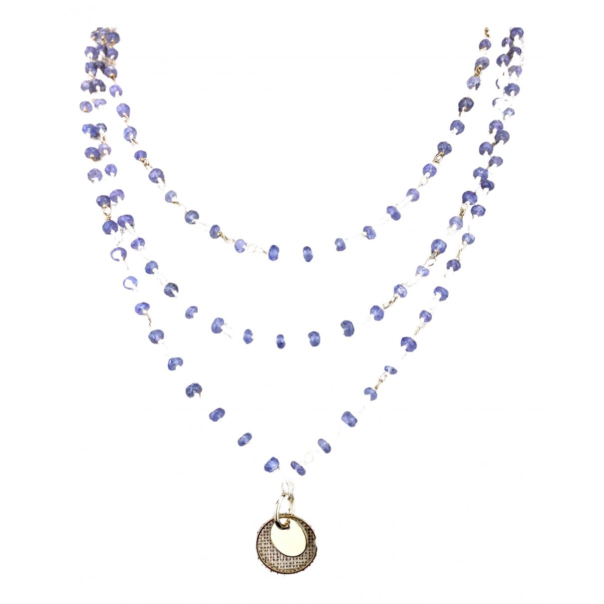 Collar largo Saphir Non Signe / Unsigned