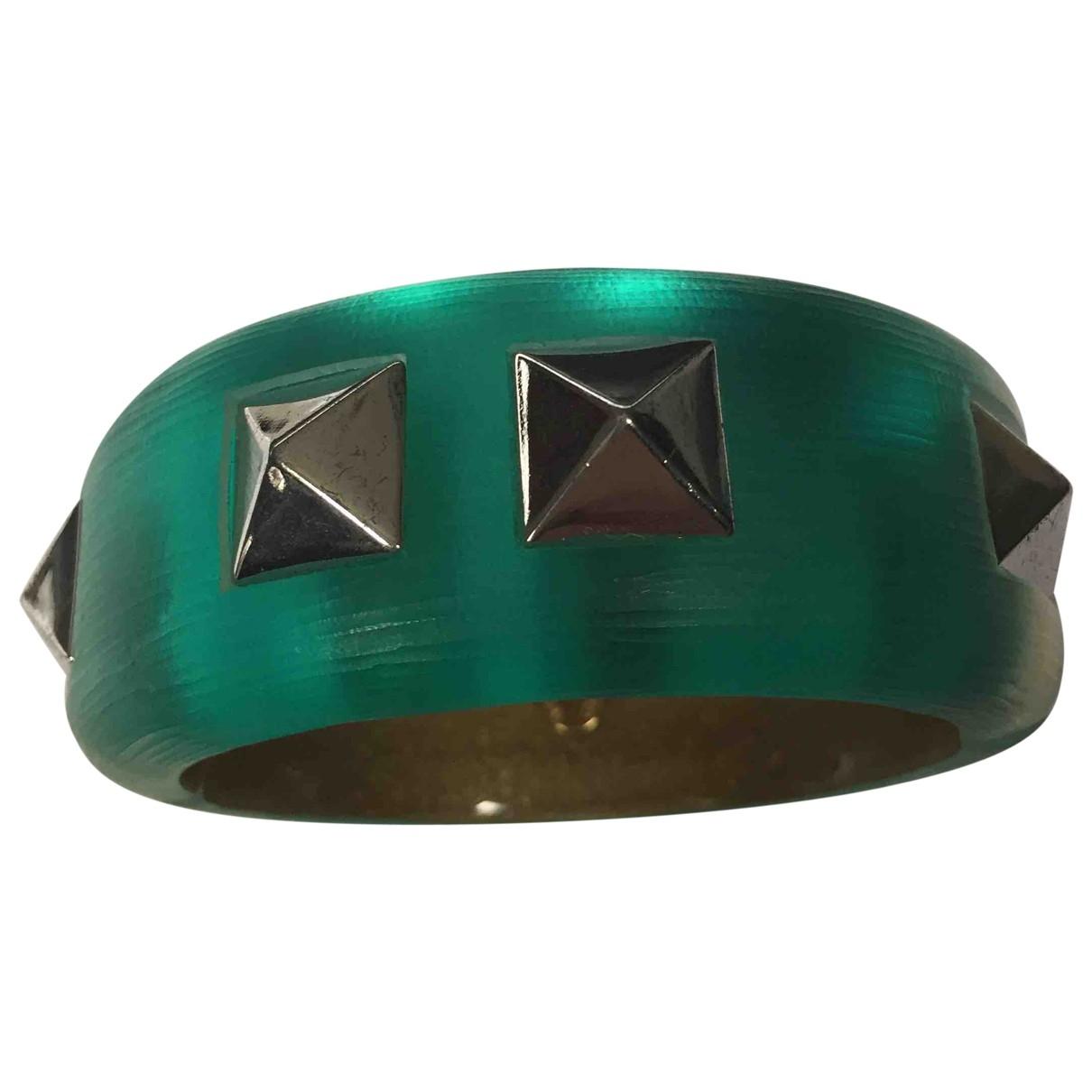 Alexis Bittar \N Armband in  Gruen Kunststoff
