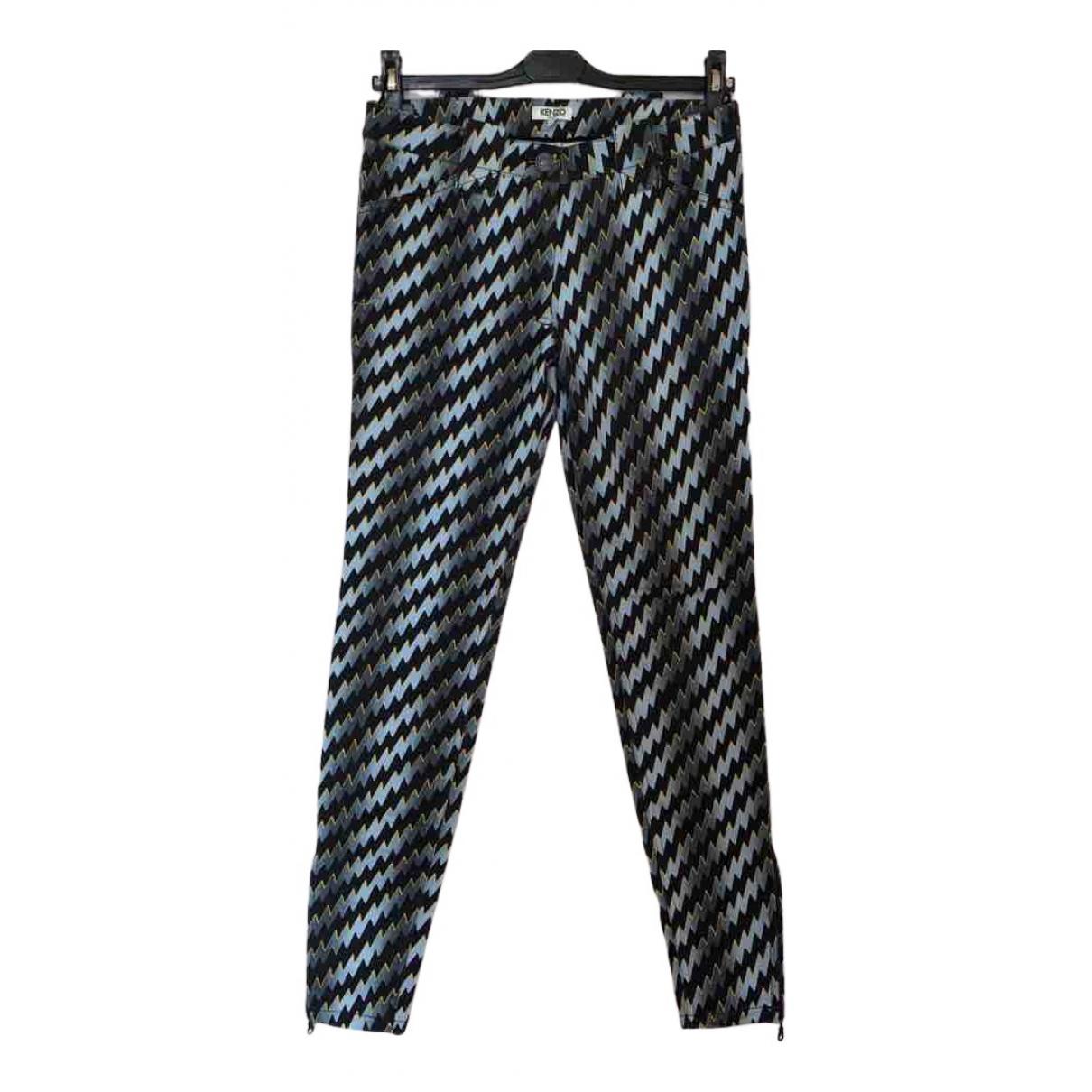 Kenzo N Silver Cotton - elasthane Jeans for Women 32 FR