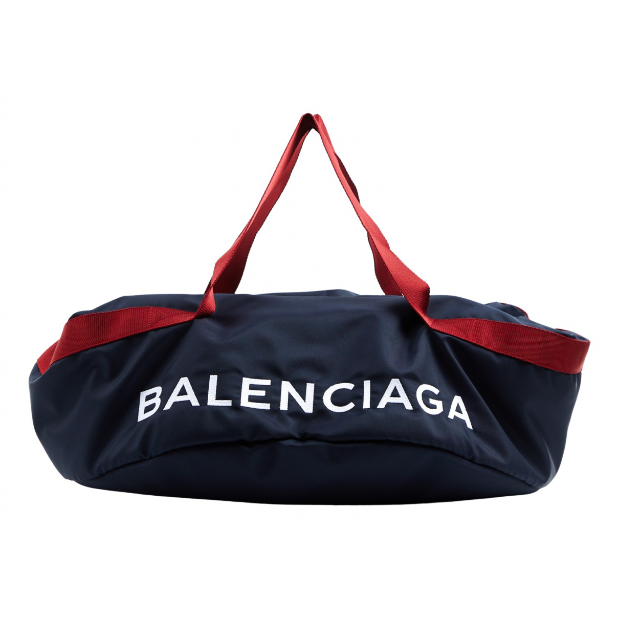 Balenciaga Wheel  Handtasche in  Marine Synthetik