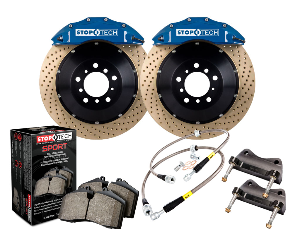StopTech 83.435.6700.24 Big Brake Kit 2 Piece Rotor; Front Honda S2000 Front 2006-2009