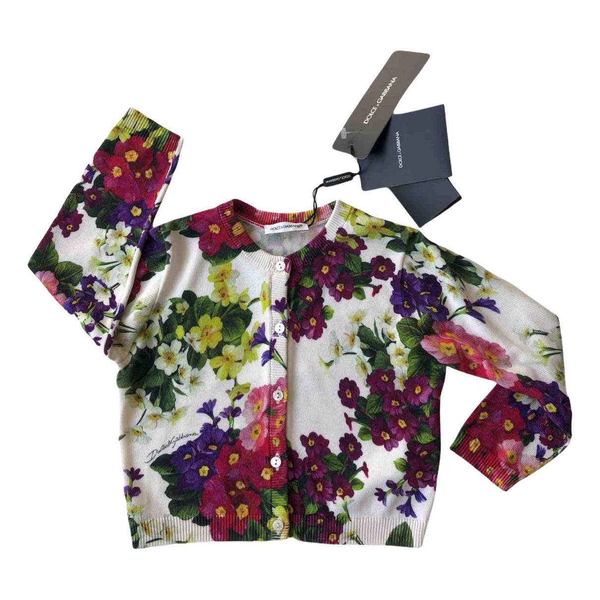 Dolce & Gabbana - Pull   pour enfant en coton - multicolore