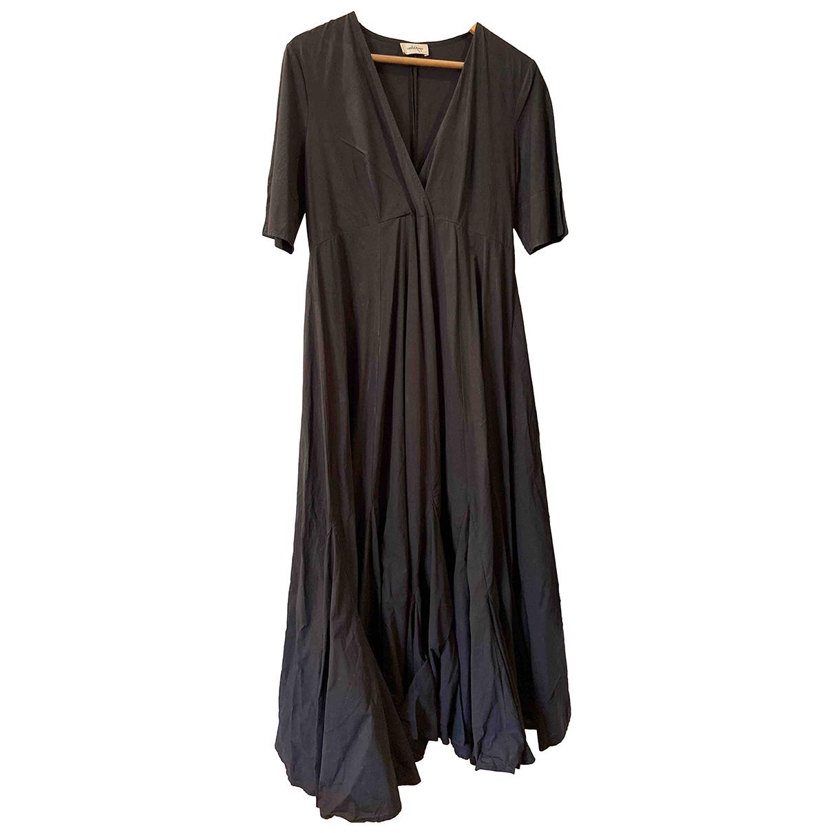 Ottodame \N Kleid in  Schwarz Baumwolle