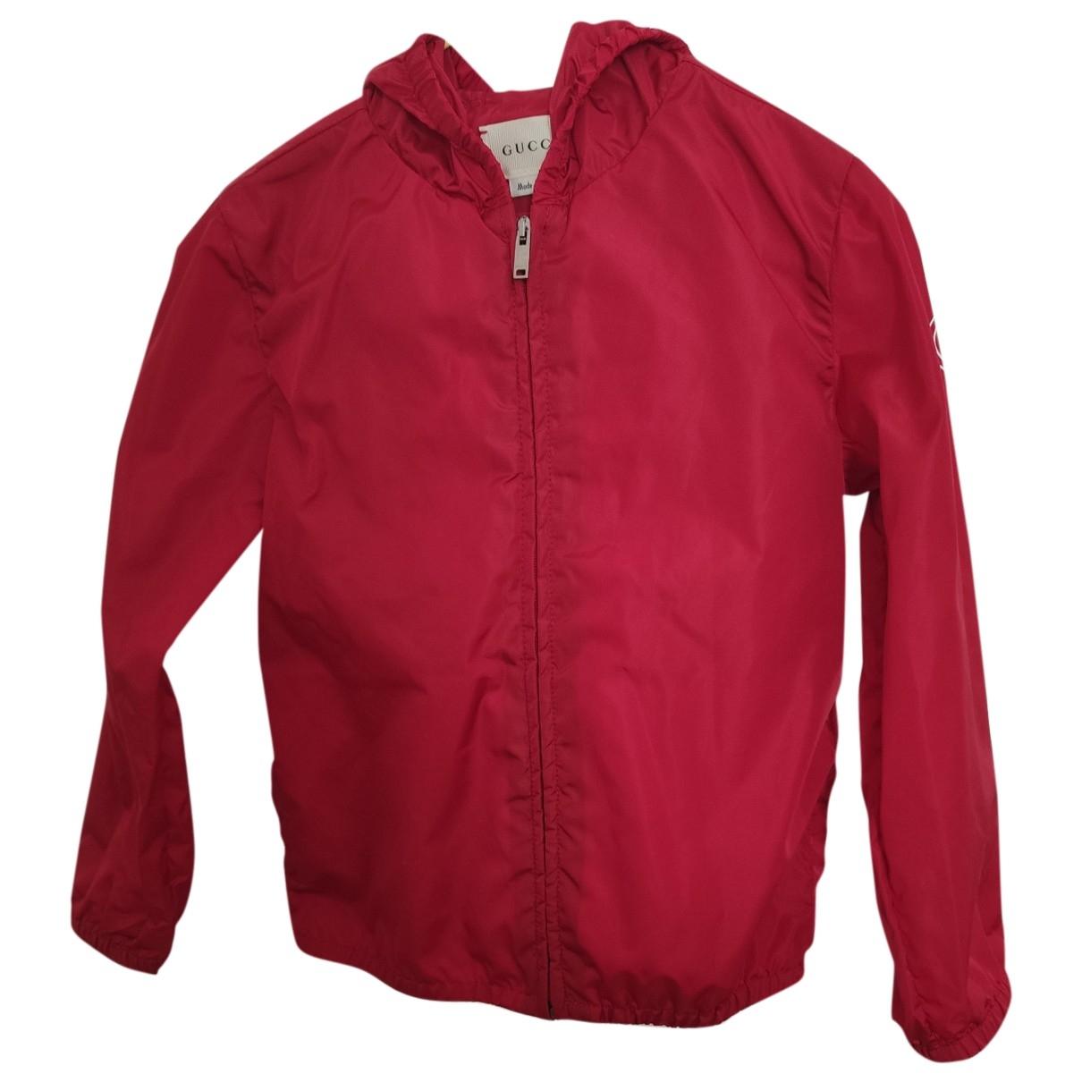 Gucci - Blousons.Manteaux   pour enfant - rouge