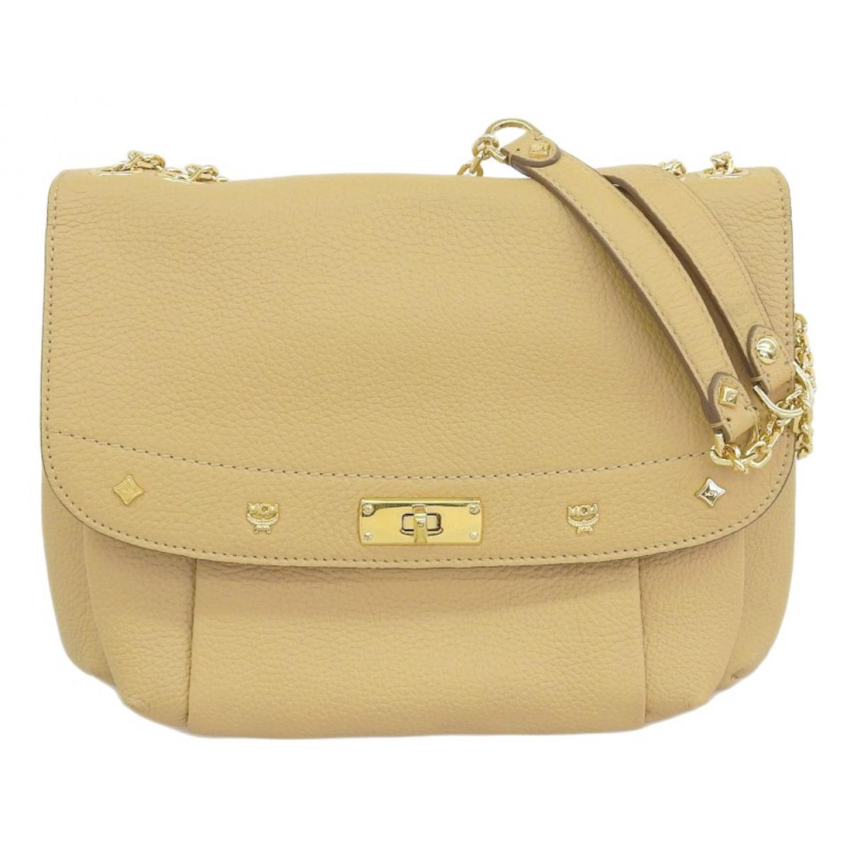 Mcm \N Beige Cloth handbag for Women \N