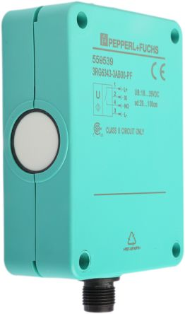 Pepperl + Fuchs Ultrasonic Sensor Block, 200 → 1000 mm, PNP-NO, M12 Connector IP65
