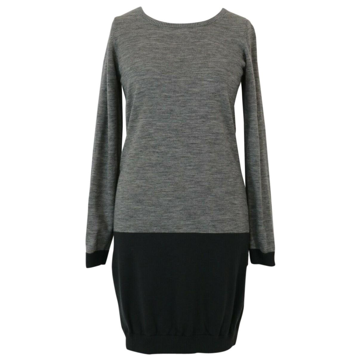 Bruuns Bazaar \N Grey Wool dress for Women L International
