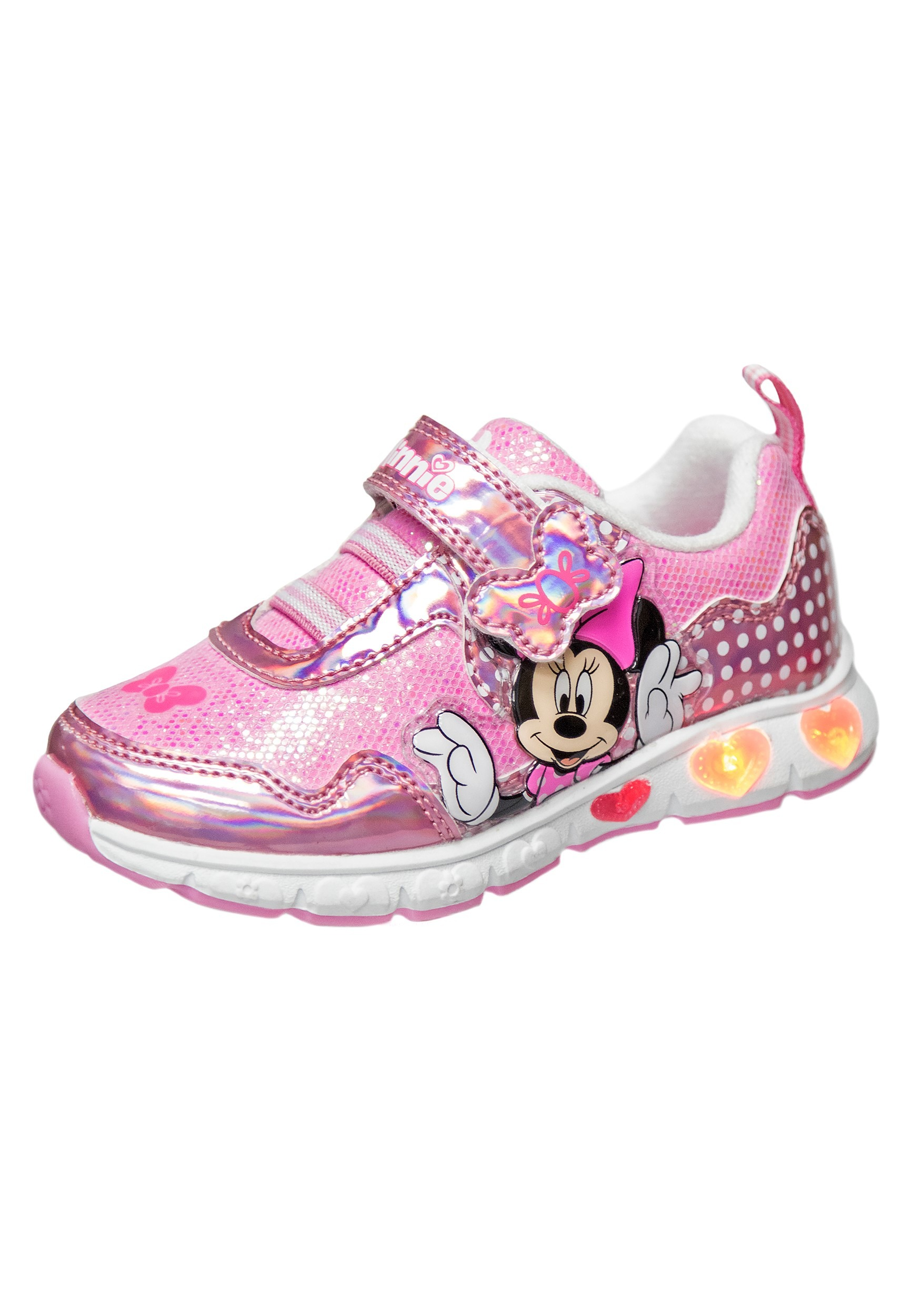 Disney Minnie Mouse Pink Girls Sneakers