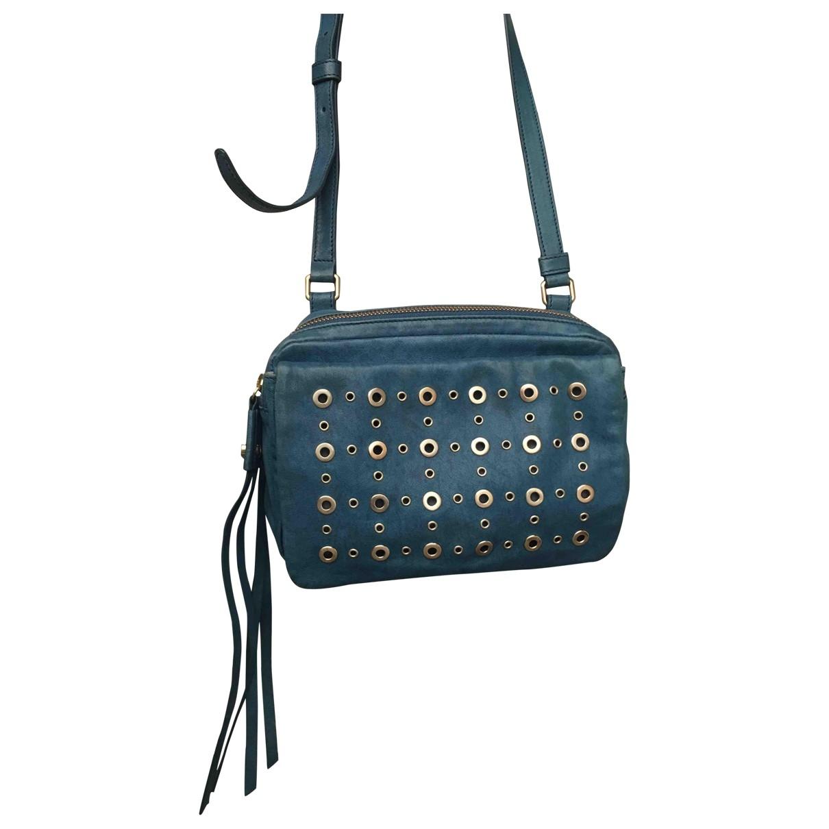 Boss Orange \N Blue Leather Clutch bag for Women \N