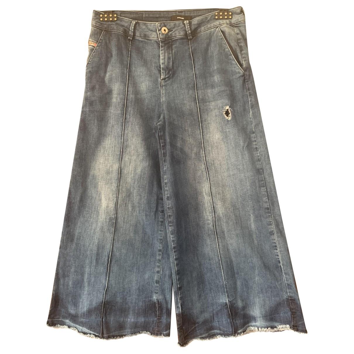 Diesel \N Blue Denim - Jeans Trousers for Kids 14 years - S FR