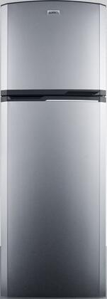 FF948SS 22 Top Freezer Refrigerator with 8.77 cu. ft. Capacity  Adjustable Glass Shelves and Reversible Doors in Stainless