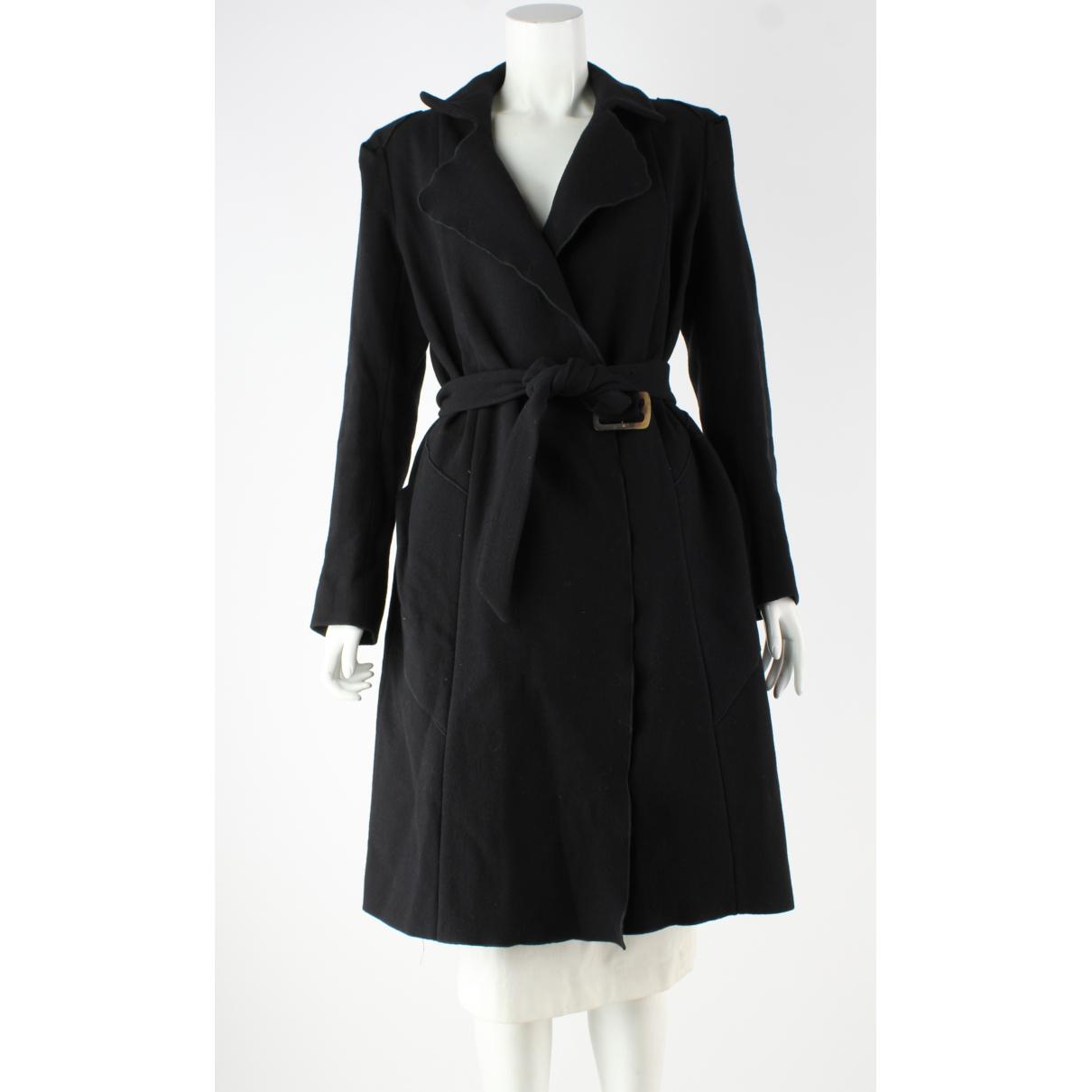 Roland Mouret - Manteau   pour femme en laine - noir