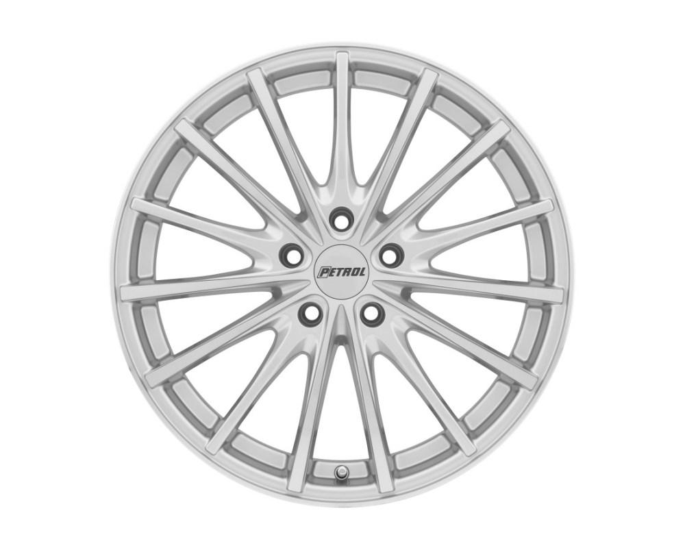 Petrol 1880P3A325112S72 P3A Wheel 18x8 5x112 32mm Silver w/ Machined Cut Face