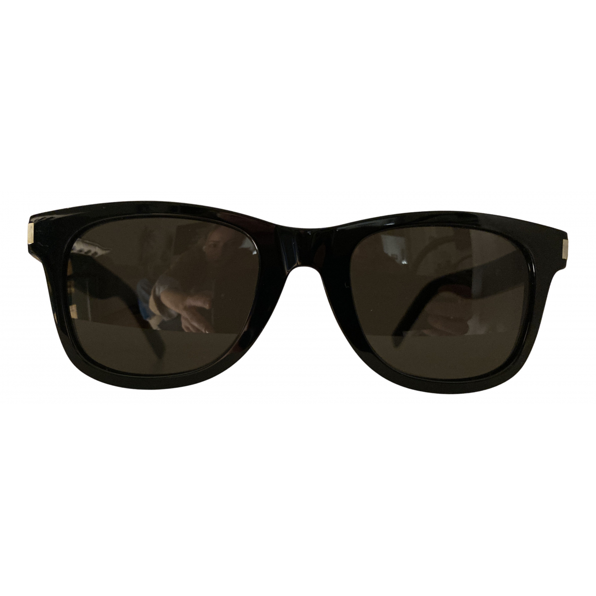 Saint Laurent \N Sonnenbrillen in  Schwarz Kunststoff
