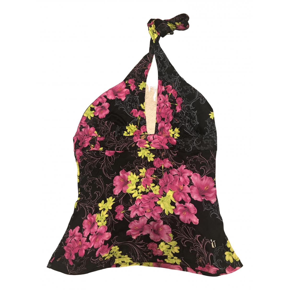 Versace - Top   pour femme - multicolore