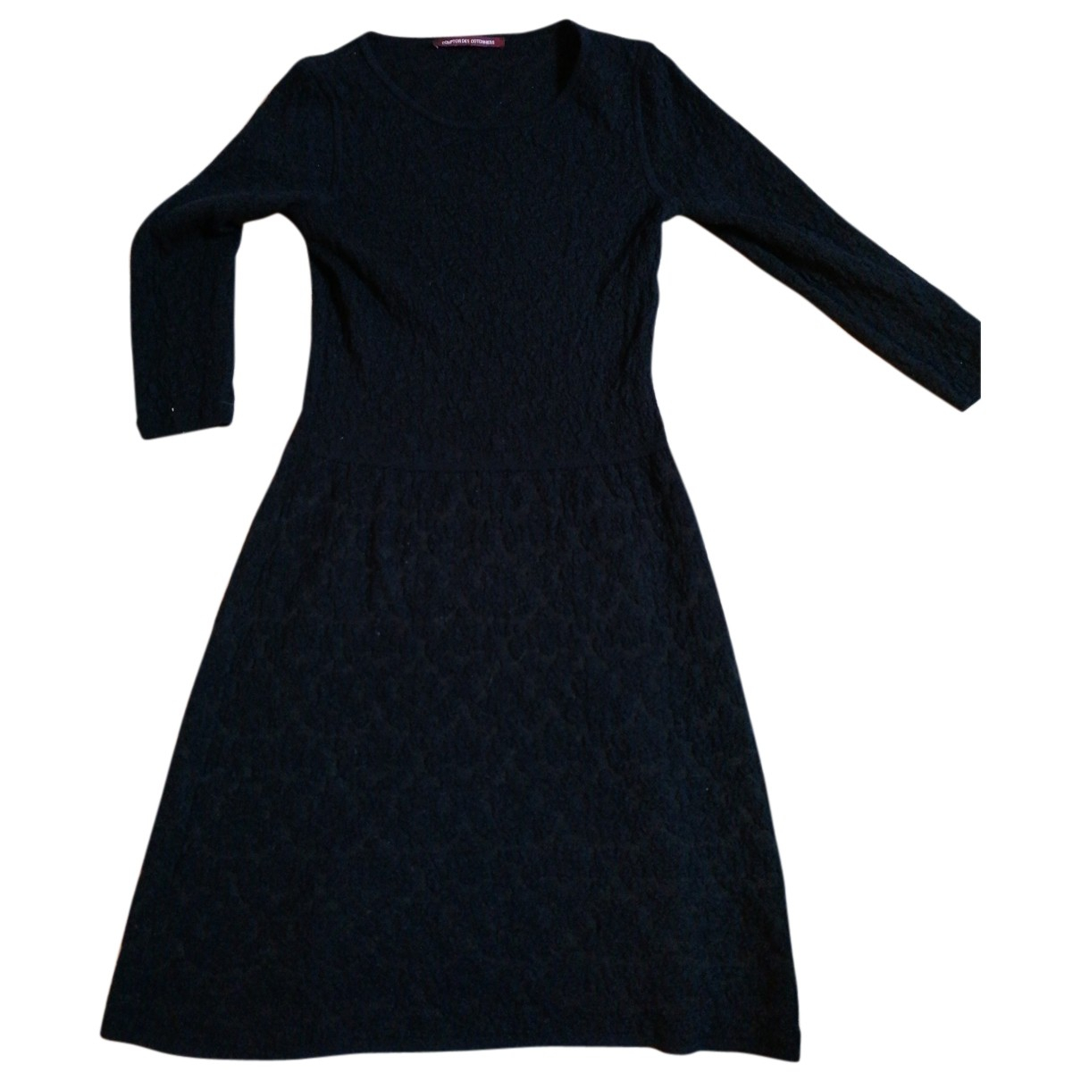 Comptoir Des Cotonniers - Robe   pour femme en laine - marine