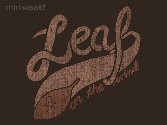 Leaf Athletic T Shirt