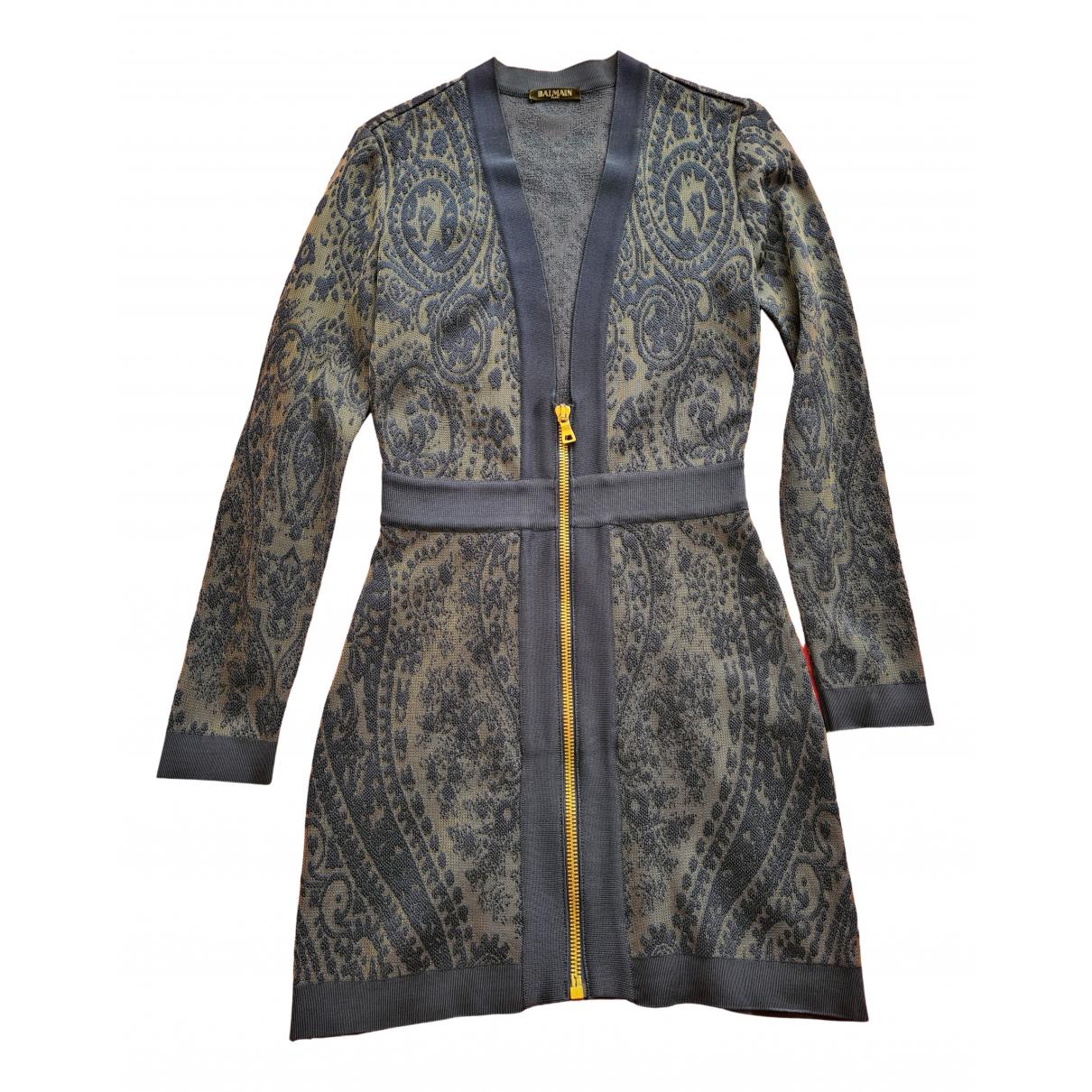 Balmain N Blue dress for Women M International