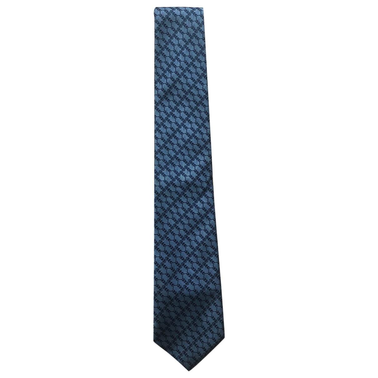 Turnbull & Asser \N Krawatten in  Blau Seide