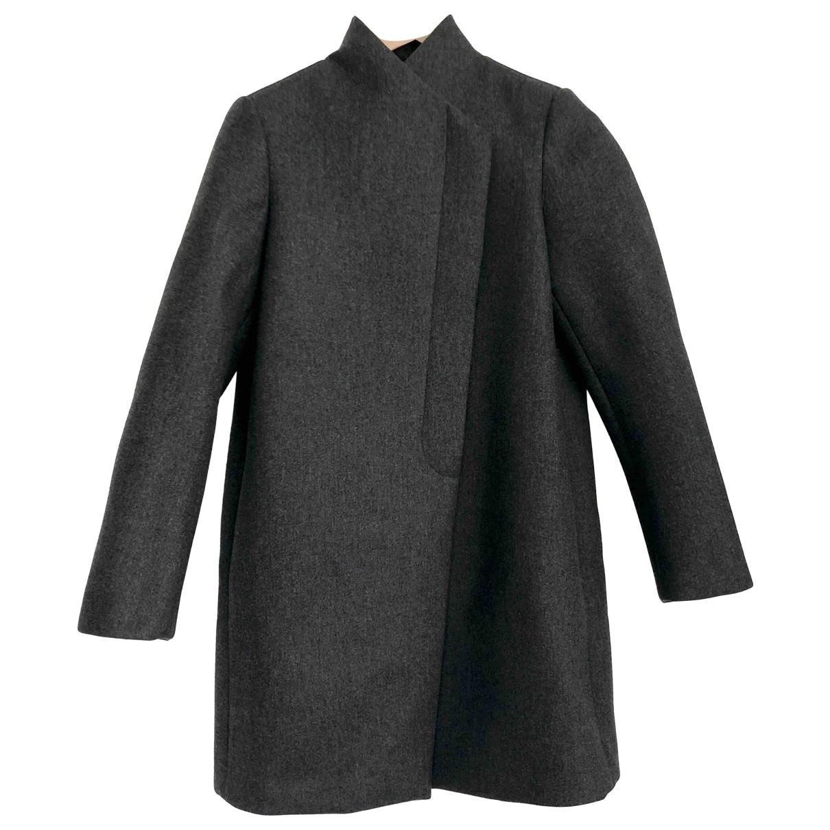 Brunello Cucinelli \N Maentel in  Grau Wolle