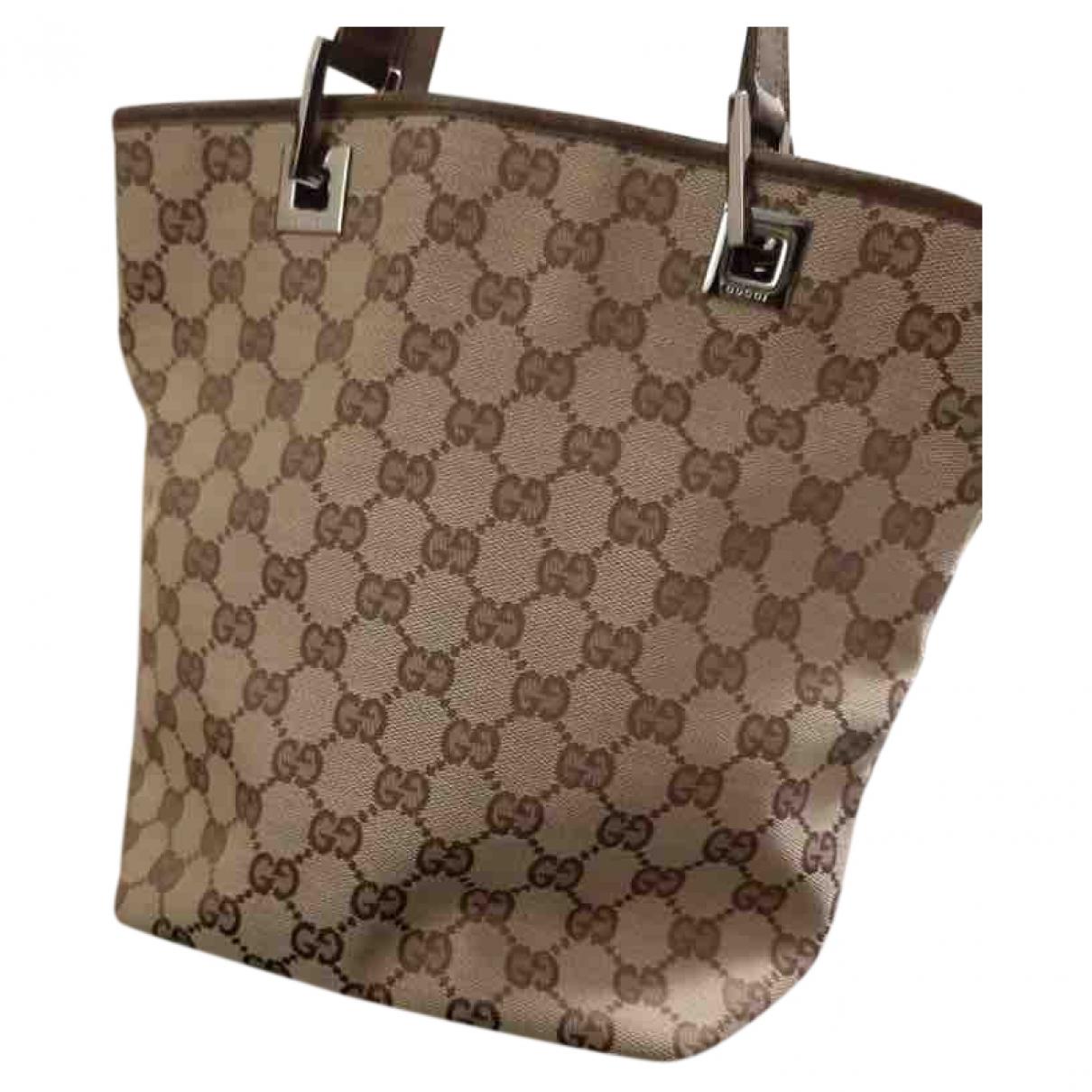 Gucci \N Grey Cloth handbag for Women \N
