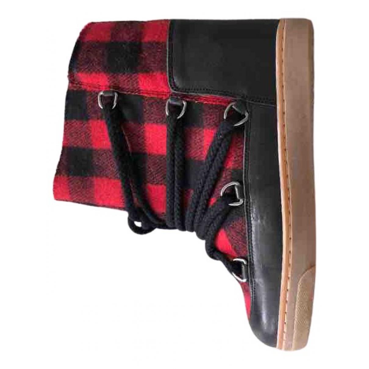 Isabel Marant - Boots   pour femme en cuir - multicolore