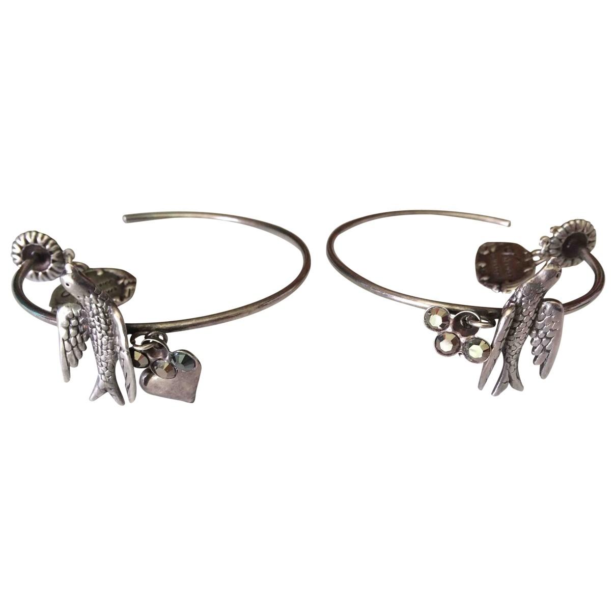 Reminiscence - Boucles doreilles   pour femme en metal - argente
