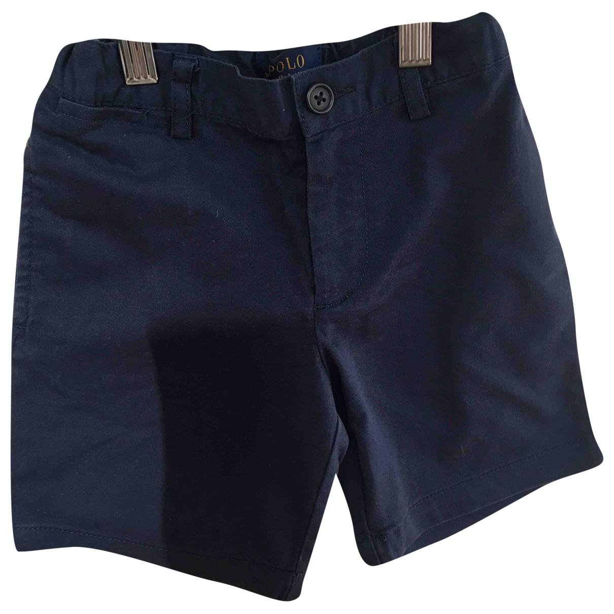 Polo Ralph Lauren - Short   pour enfant en coton - bleu