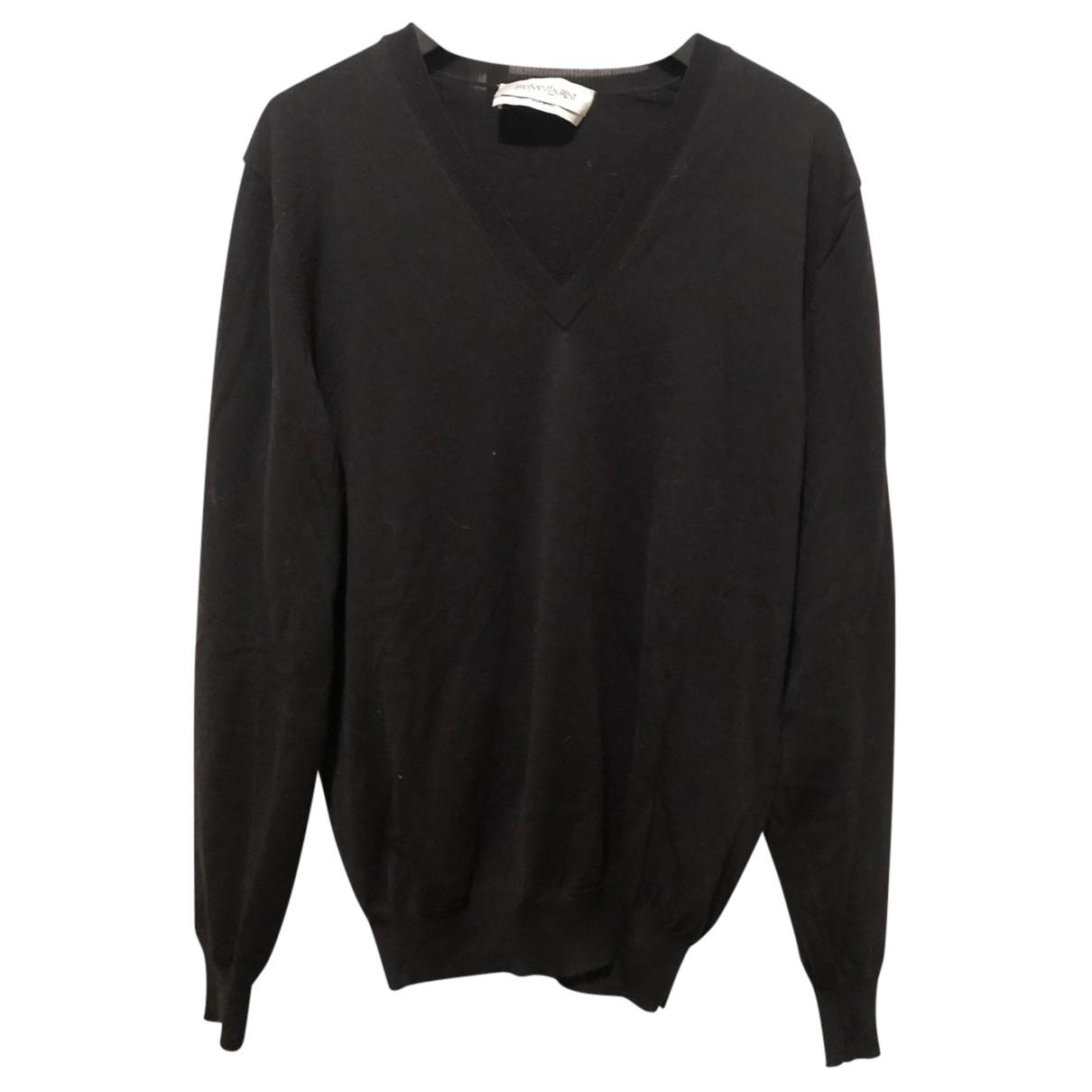 Yves Saint Laurent \N Black Wool Knitwear & Sweatshirts for Men S International
