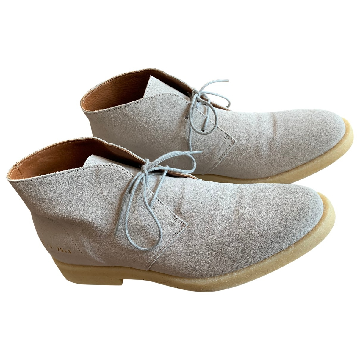 Common Projects \N Grey Suede Lace ups for Men 41 EU