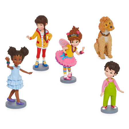 Disney Collection 5-Pc. Fancy Nancy Figurine Playset, One Size , No Color Family