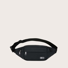 Guys Zip Front Fanny Pack