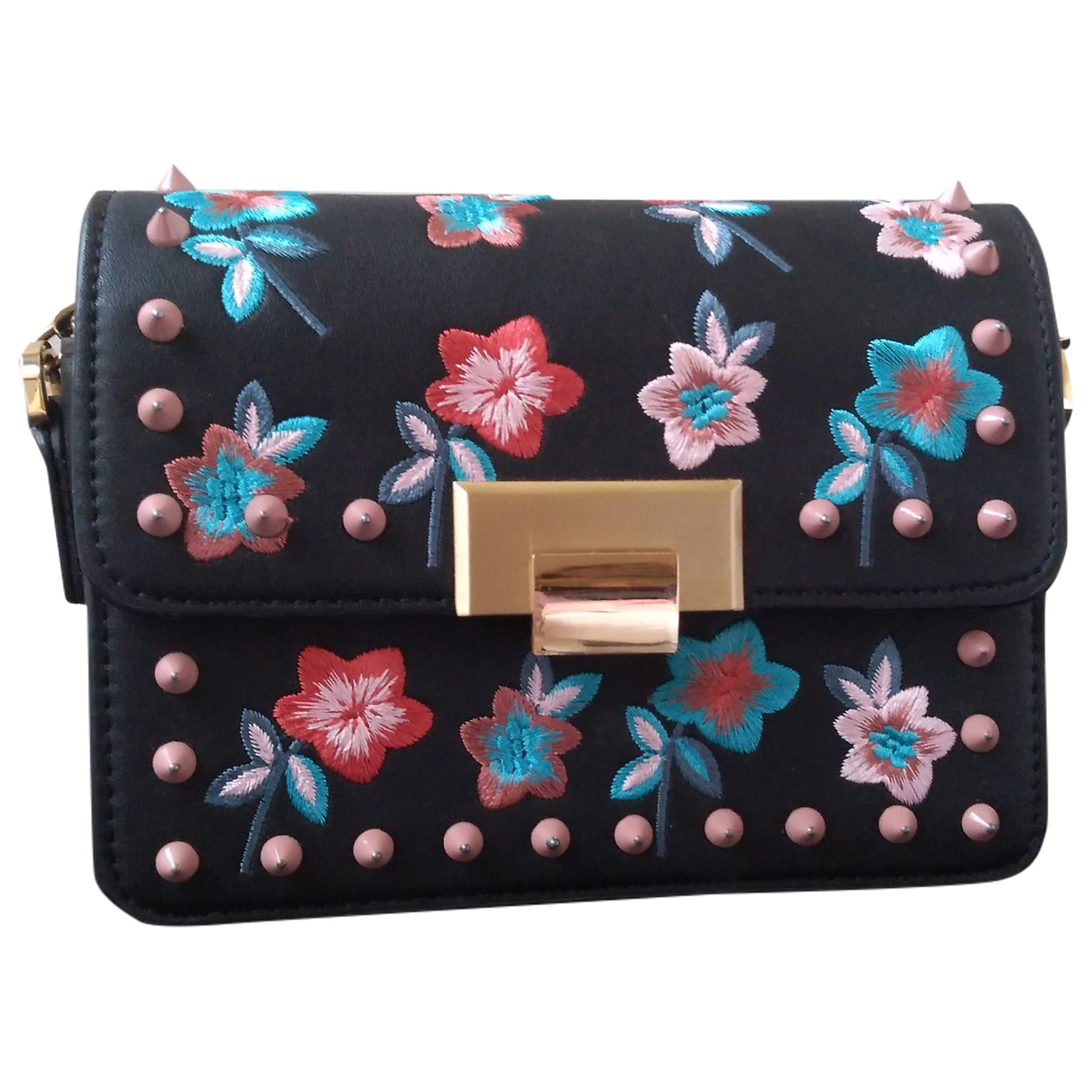 Tophop \N Clutch in  Schwarz Polyester