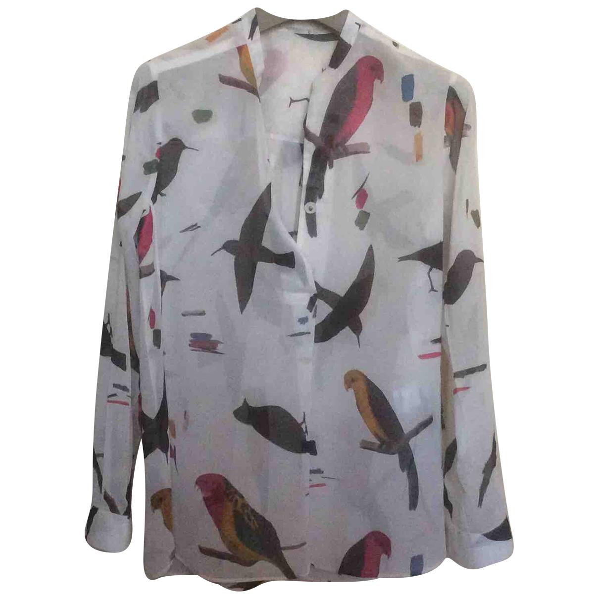 Aglini - Top   pour femme en coton - multicolore