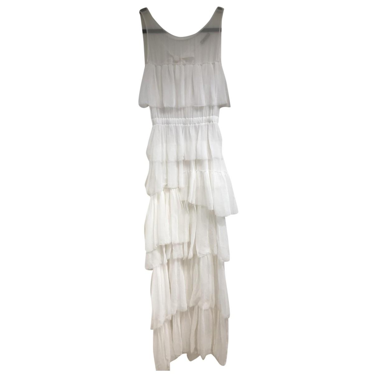 Nina Ricci - Robe   pour femme en soie - blanc