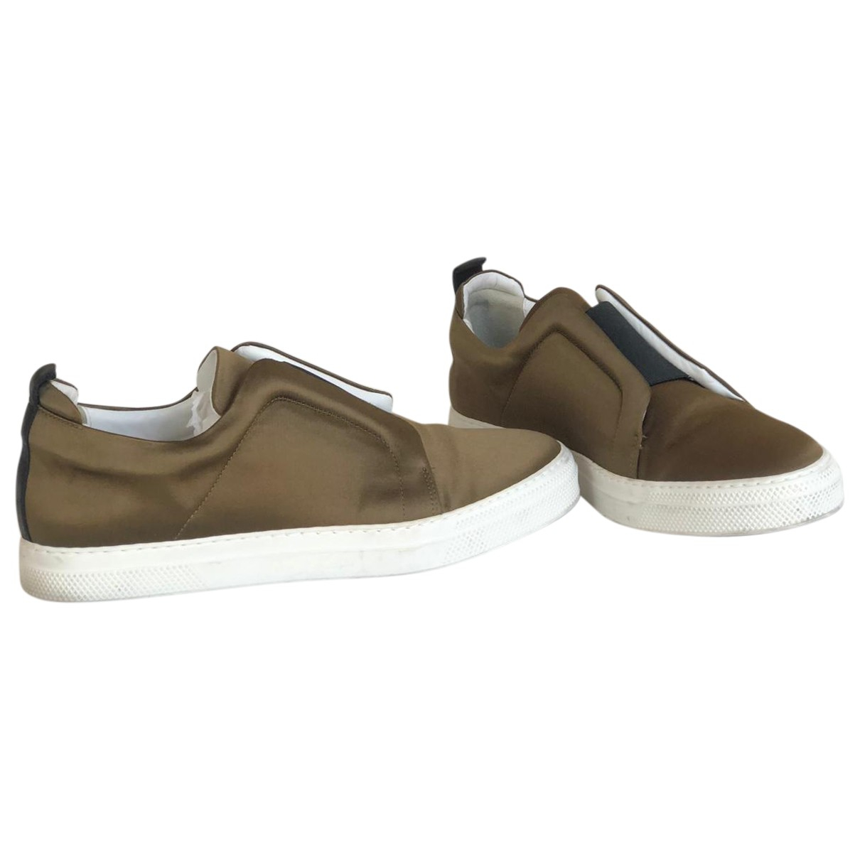 Pierre Hardy \N Gold Trainers for Men 41.5 EU