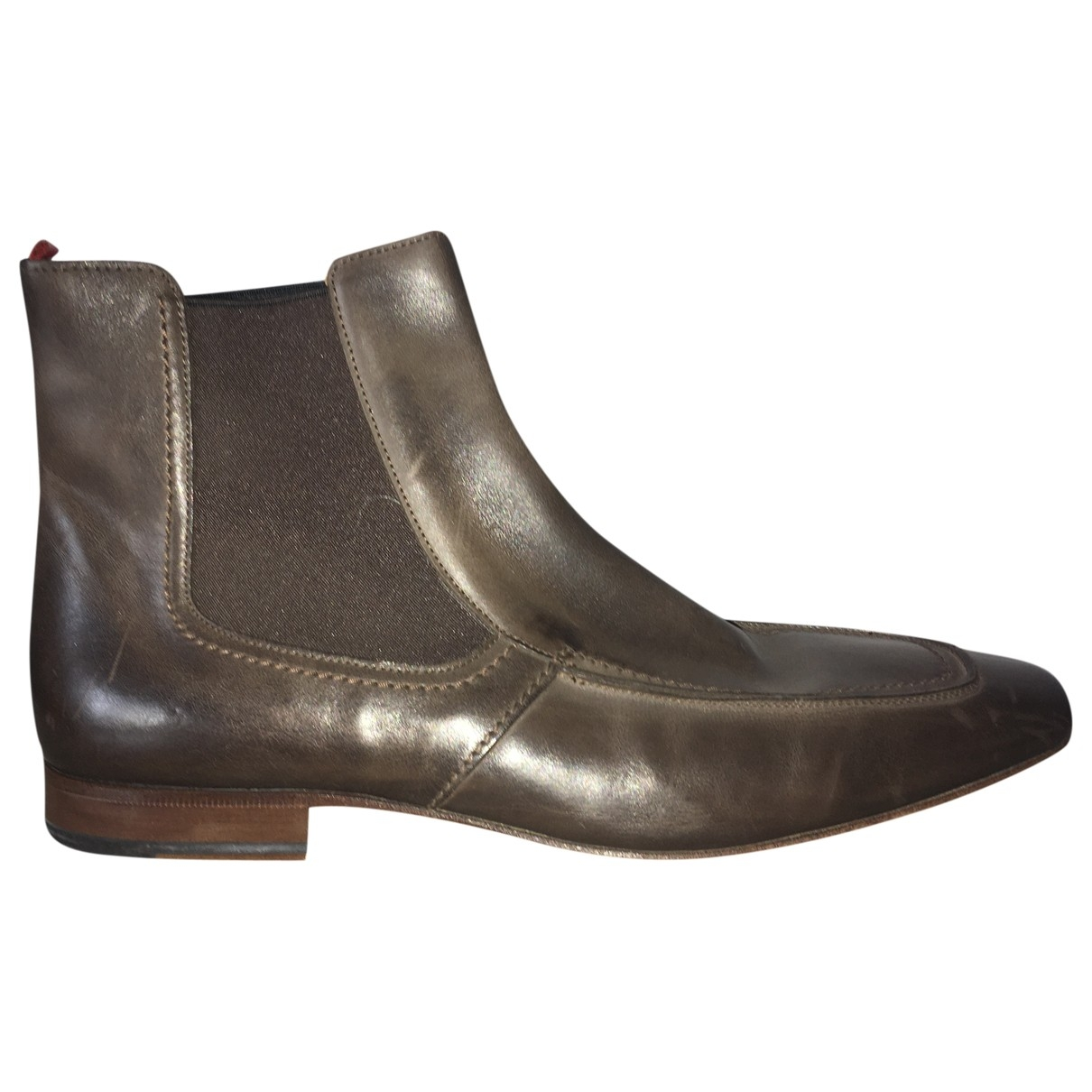 Botas de Cuero Hugo Boss