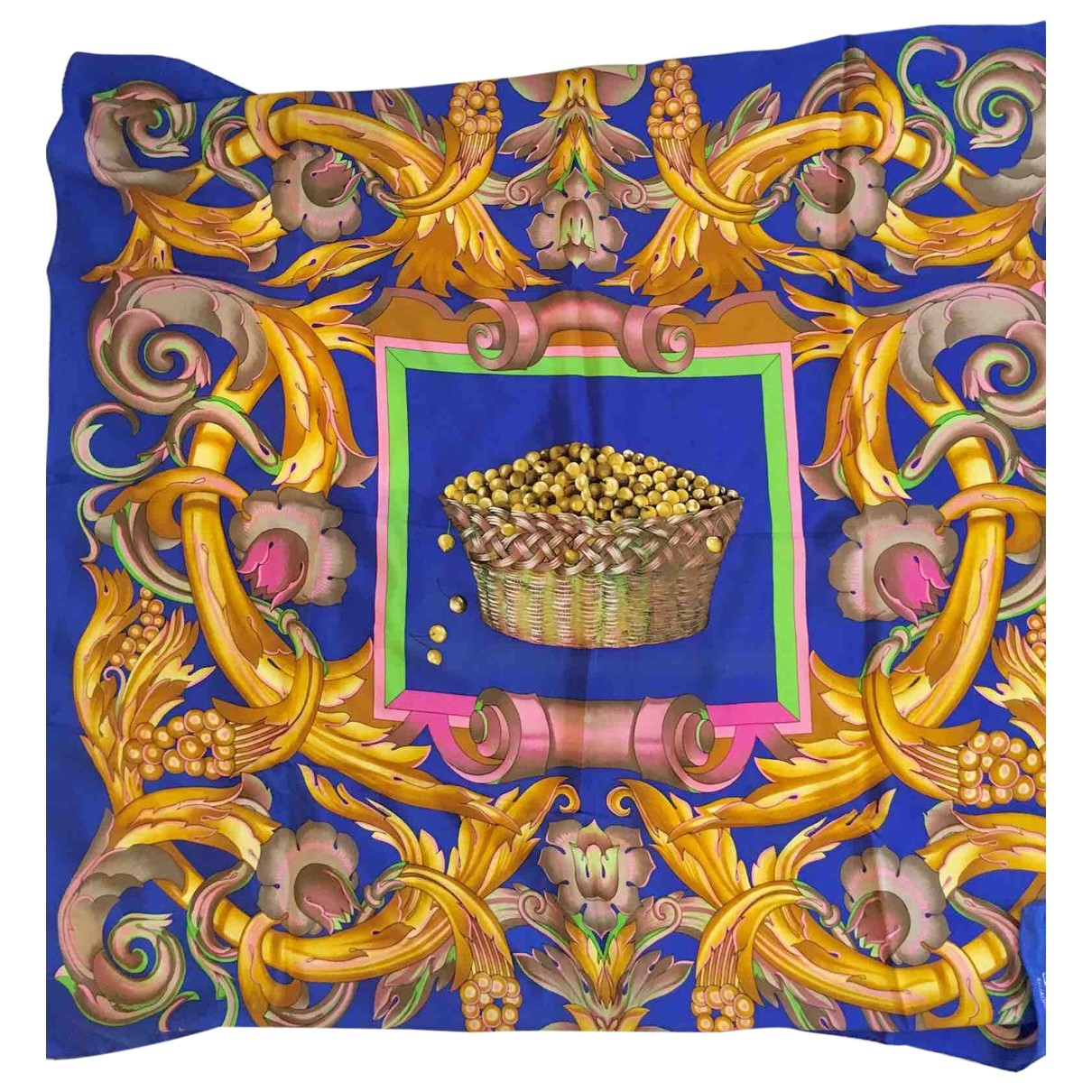Loewe \N Multicolour Silk scarf for Women \N