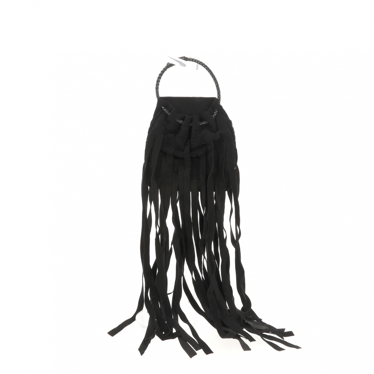Bottega Veneta - Sac a main   pour femme en suede - noir