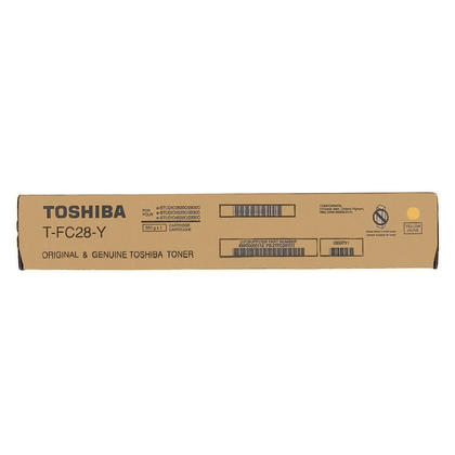 Toshiba T-FC28-Y Original Yellow Toner Cartridge