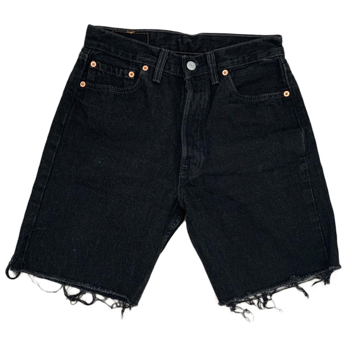 Levis Vintage Clothing \N Shorts in  Schwarz Baumwolle