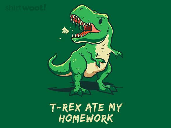Bad Dinosaur! T Shirt