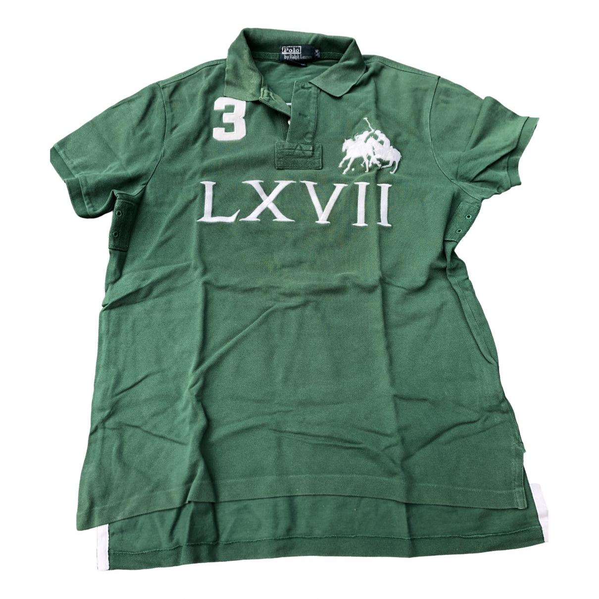 Polo Ralph Lauren \N Poloshirts in  Gruen Baumwolle